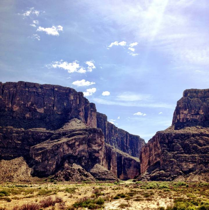 Santa Elena Canyon Big Bend