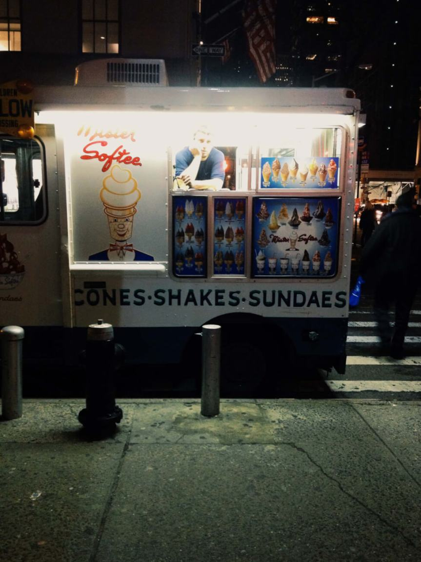 Milkshake Stand in NYC
