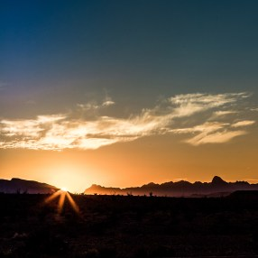 Sunset in Big Bend