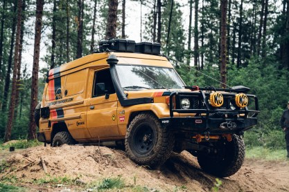 78 Series Toyota Land Cruiser Troop Carrier