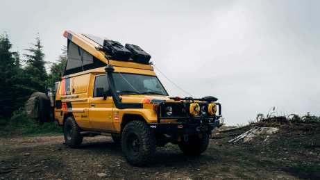 Camp mode (roof boxes not recommended)