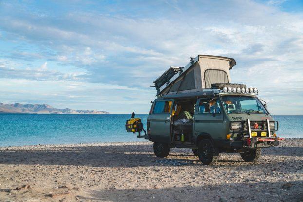 VW Syncro in Baja
