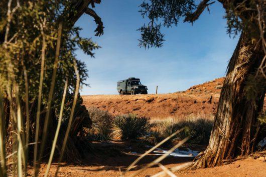 Canyonlands in Land Cruiser