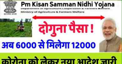 PM Kisan Yojana with 1.6 lakh subsidy without double subsidy to farmers. Pm Kisan Update