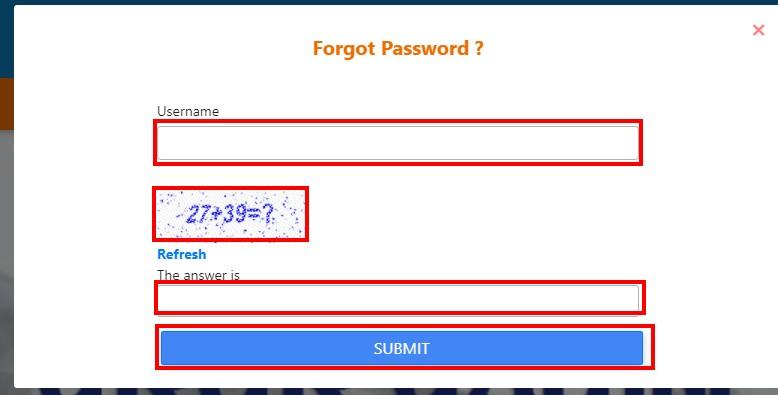 Haryana-Parivar-Forget-Password, Family ID Haryana