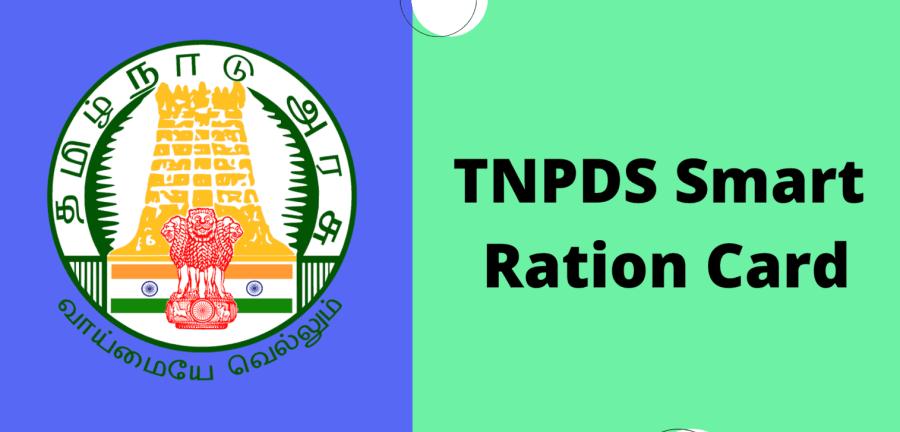 TNPDS-Smart-Ration-Card