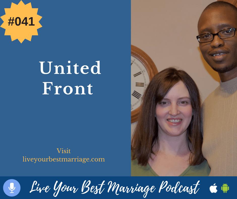 Episode 41: United Front