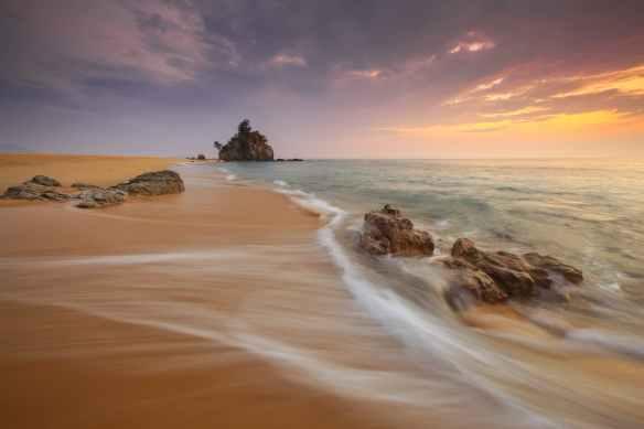 sea landscape beach landmark