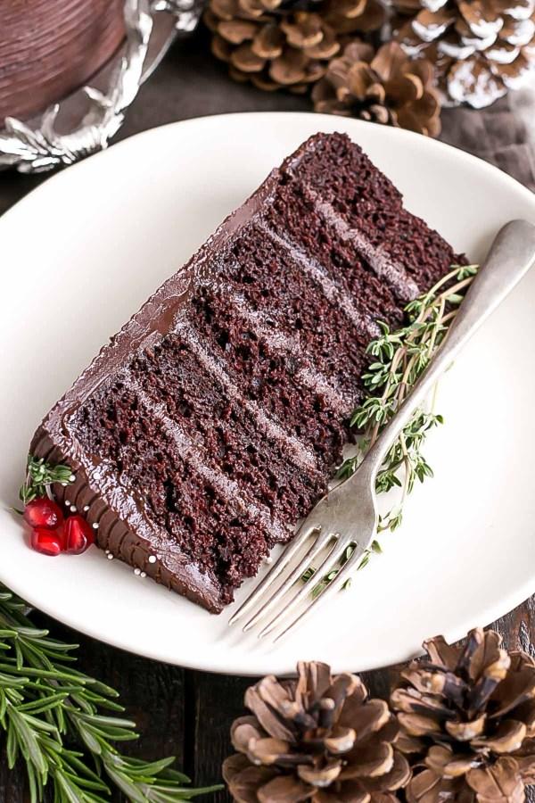 Chocolate Gingerbread Cake Liv