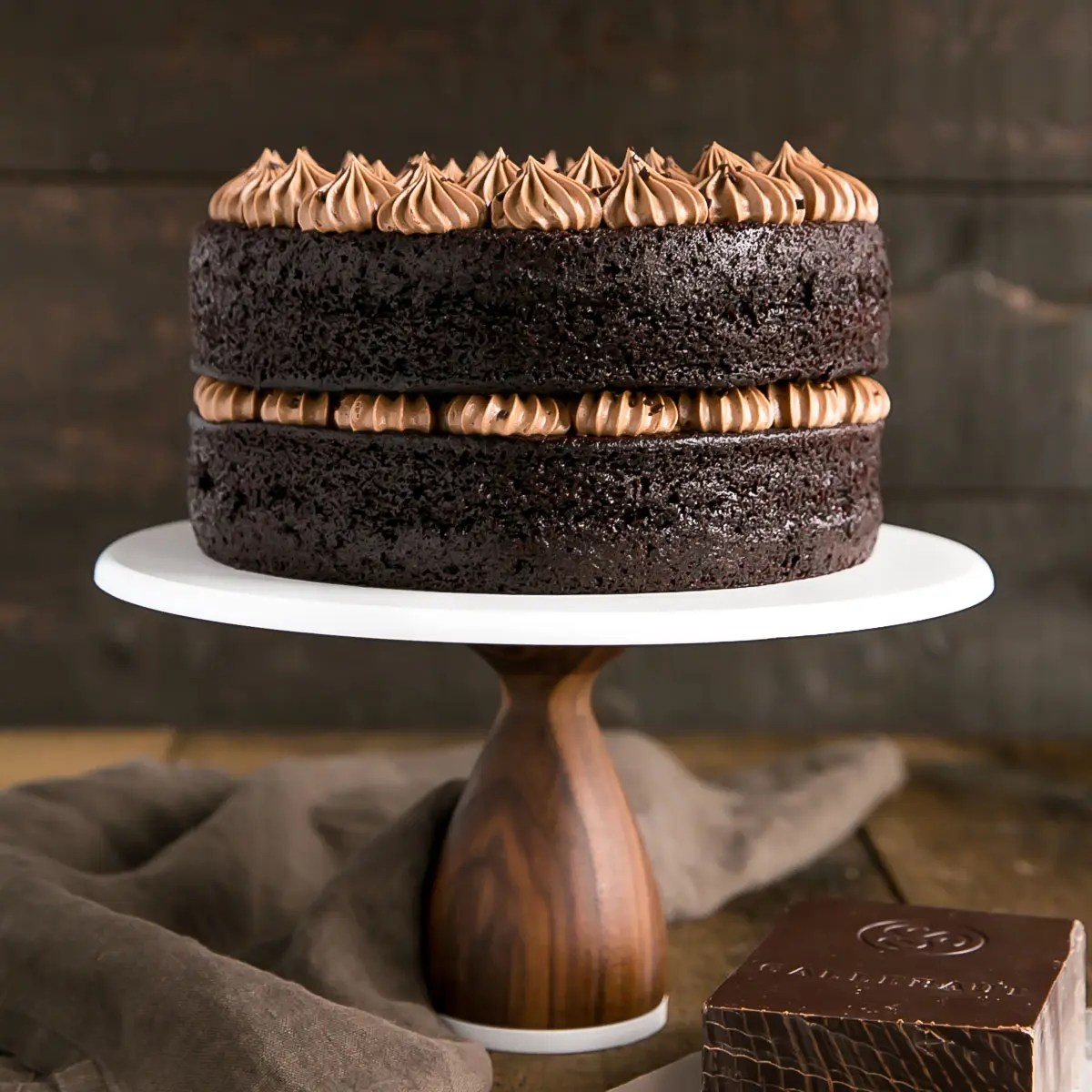 French Silk Pie Cake Copycat Deep N Delicious Chocolate