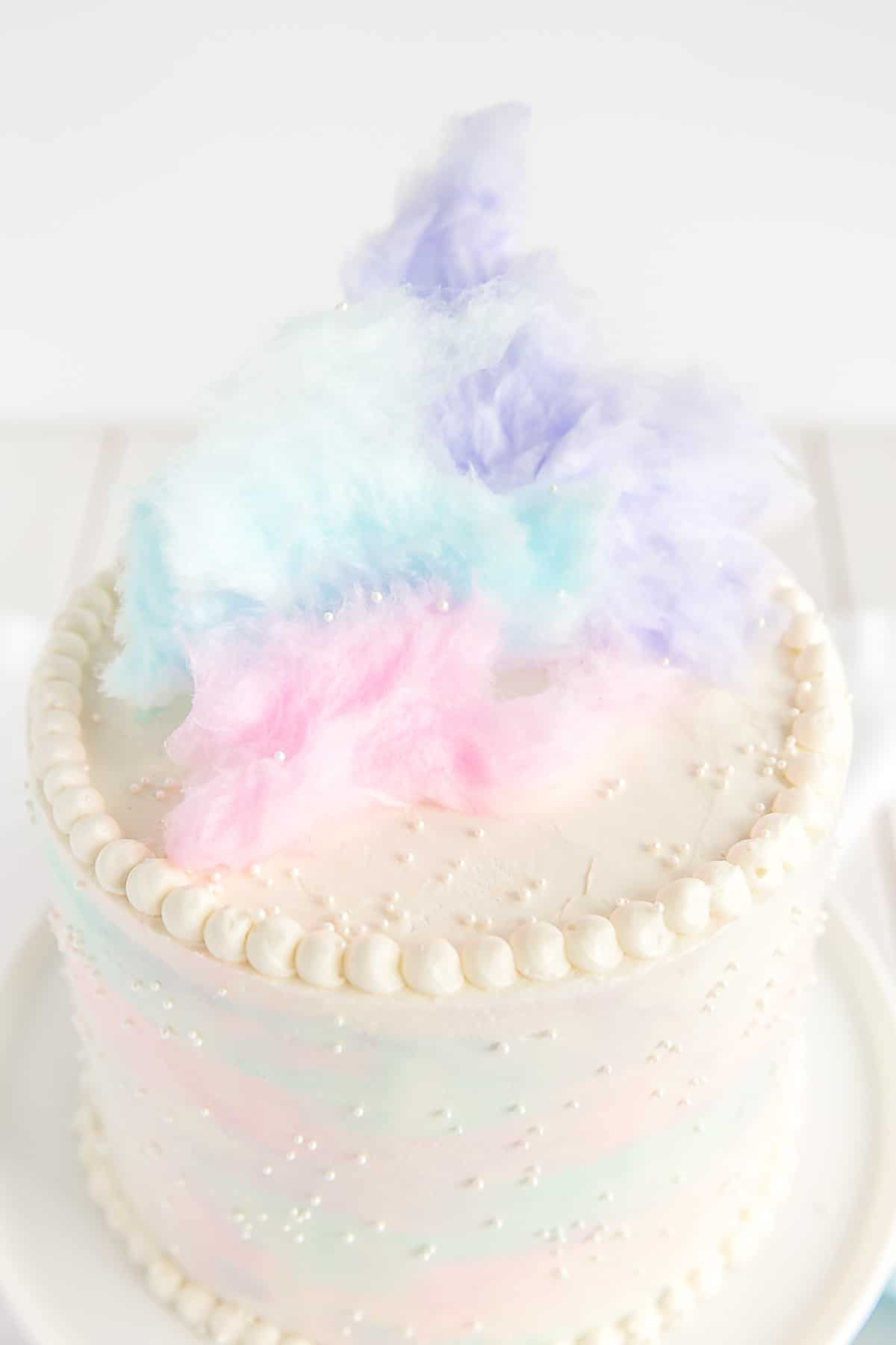 cotton candy cake liv