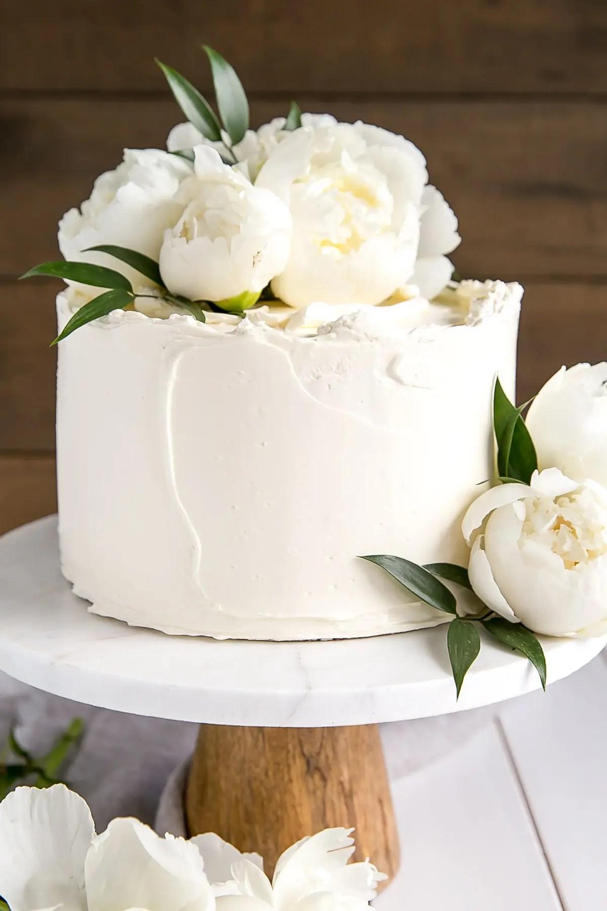 Lemon Elderflower Cake Copycat Royal Wedding Cake