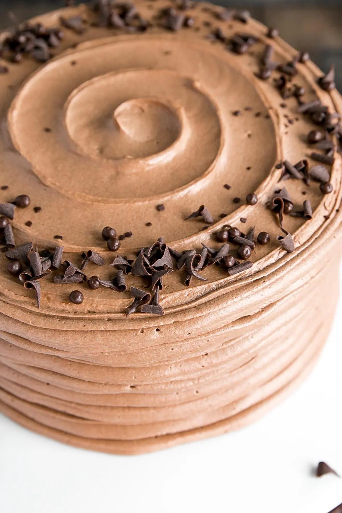 Classic Chocolate Cake Liv For Cake