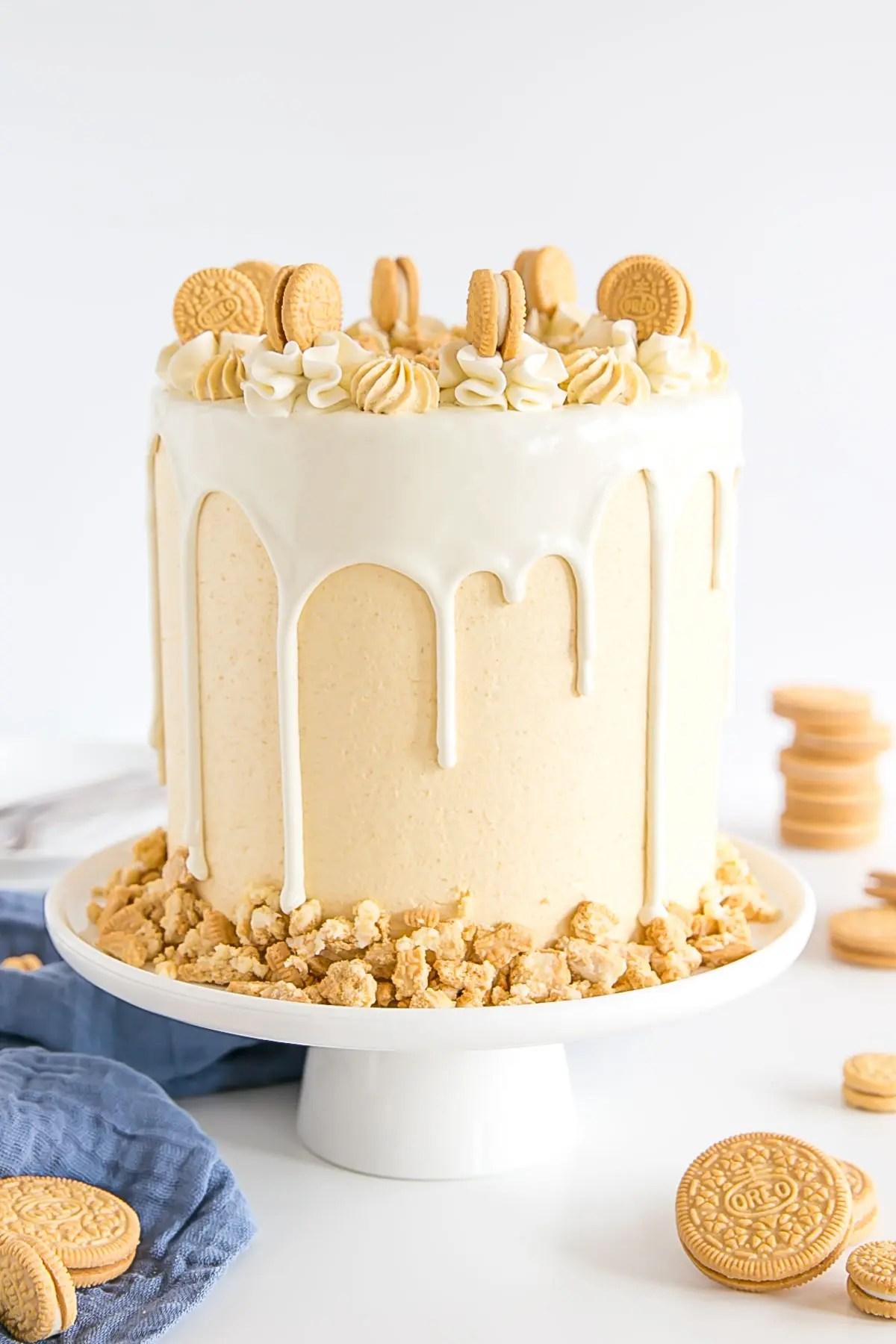 Golden Oreo Cake Dessert