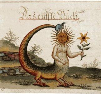 Miniature dal manoscritto ZoroasterClavis Artis, MS. Verginelli-Rota, Biblioteca dell'Accademia Nazionale dei Lincei, Roma.