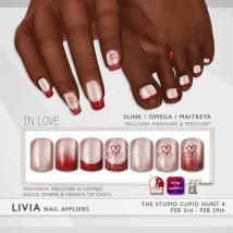 LIVIA In-Love Nails