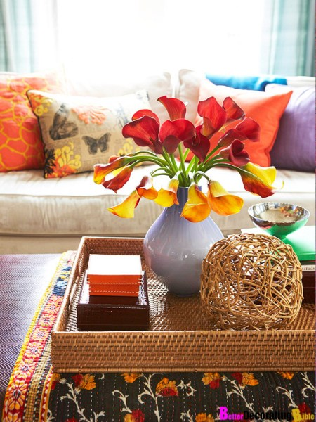 round coffee table tray decorating ideas Styling Tips for Decorating with Trays