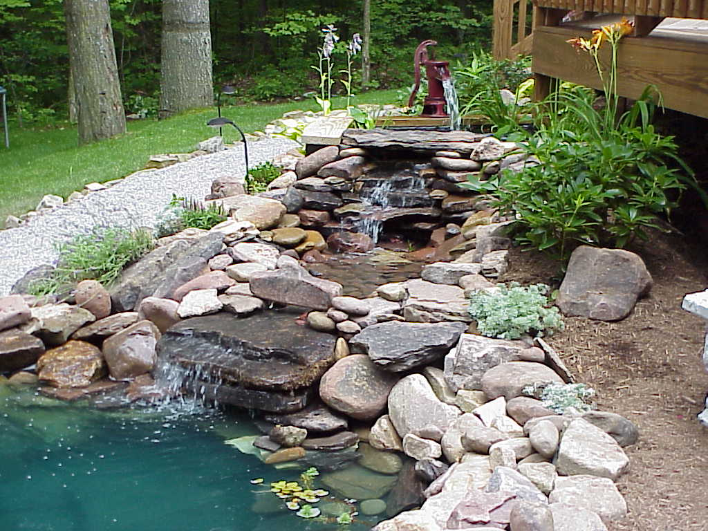 Relax with a Backyard Water Feature