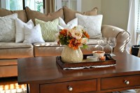 tray decor for fall coffee table - Livinator