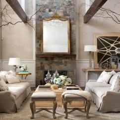 Designing A Small Living Room With Fireplace Ethan Allen Furniture How To Decorate Rooms High Ceilings
