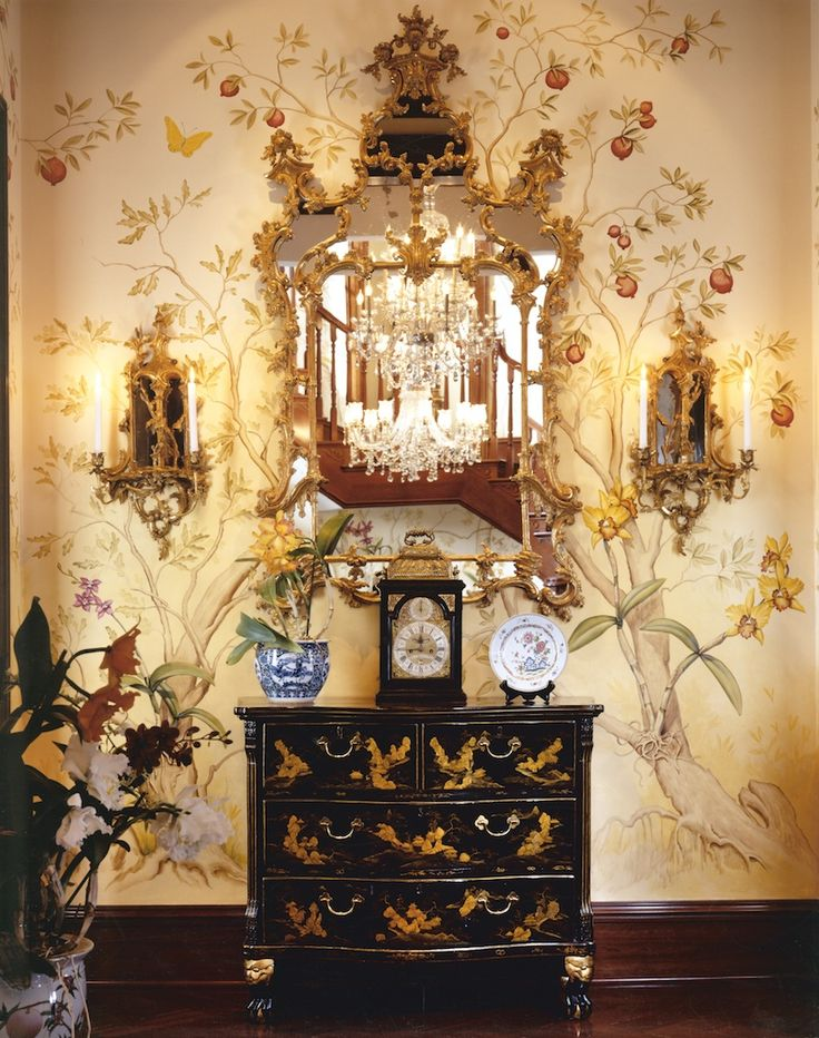 The Chic And Elegant Chinoiserie Style