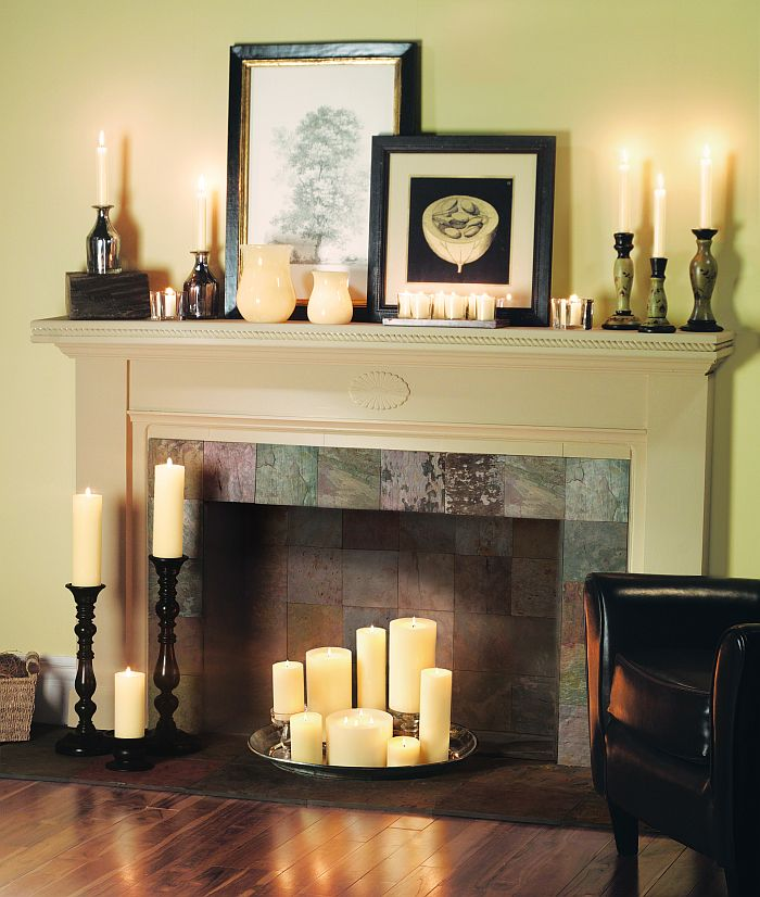 Creative Ways to Decorate Your Fireplace in the Offseason