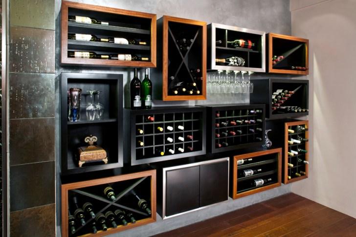 Impressive Wine Storage System Kitchen