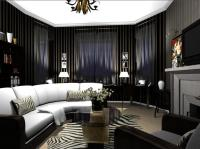 Creating an Art Deco Living Room