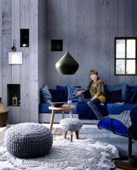 Indigo Blue and Denim for Your Home