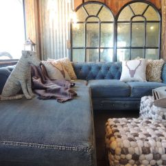 Blue Denim Sofa Bed How To Make Headrest Covers Indigo And For Your Home