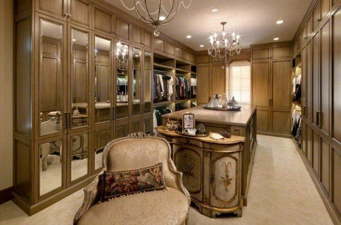 Luxury Walkin Closets