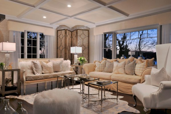zillow design living room ideas The Depth of White in 2016 Interior Design