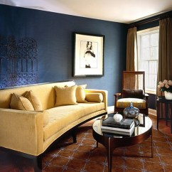 Navy Sofa Beige Walls Bed Sizes Brown And Blue Interior Color Schemes For An Earthy