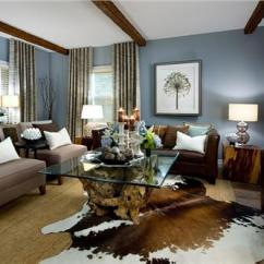 Living Rooms With Blue And Brown Room Decor Black Furniture Interior Color Schemes For An Earthy Elegant Beautiful Scheme