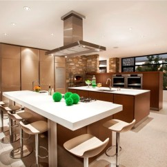 Remodeling Open Kitchen Living Room Island With Stainless Steel Top Designs