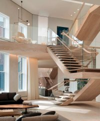 Lofty Living with Open Two-story Interiors