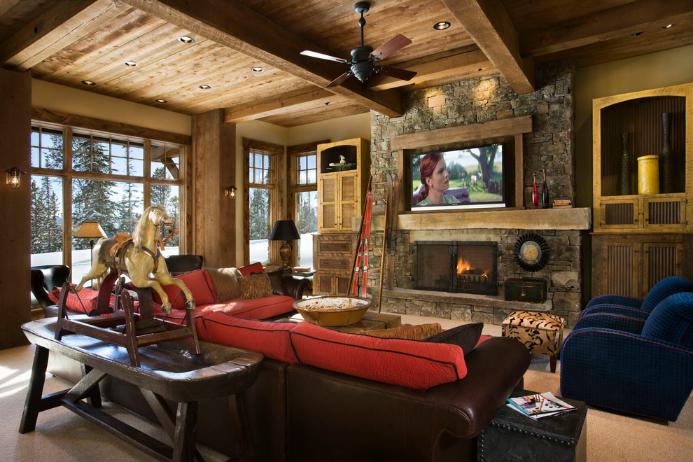 The Beauty and Comfort of Lodge Style Interiors