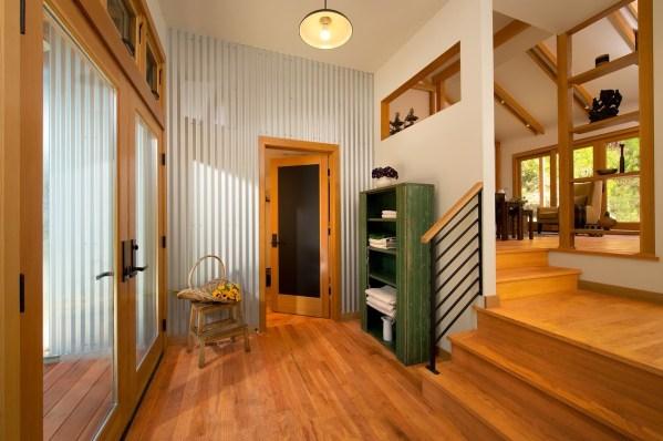Corrugated Metal Interior Wall Ideas
