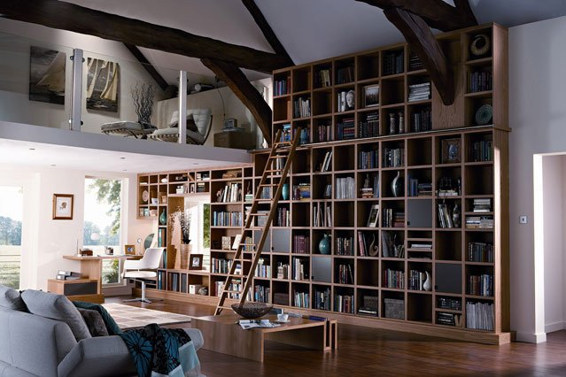 Bookcase Feature Wall