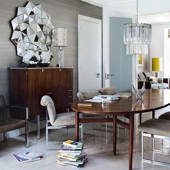 10 Rooms with MidCentury Modern Glamour