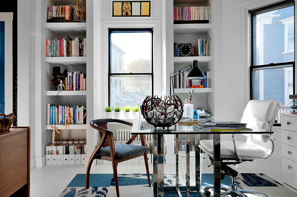 The MidCentury Modern Home Office