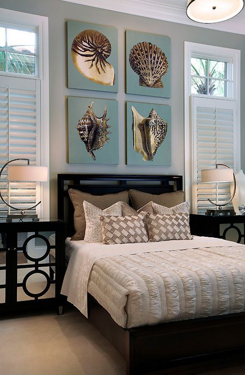 The Serenity Of The Coastal Bedroom