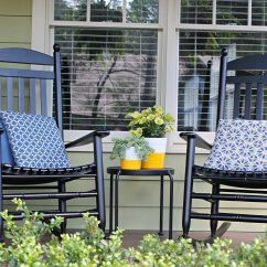 Outdoor Porch Chairs Swivel Chair Arm Covers The Iconic Style Of Rocking