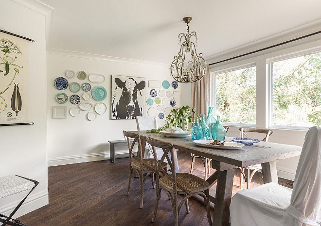 farmhouse kitchen table with bench inexpensive makeovers chic and charming style for every taste
