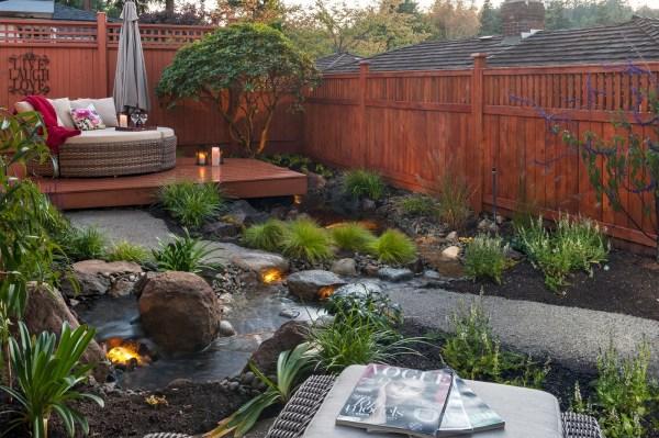 Garden Small Backyard Oasis Ideas