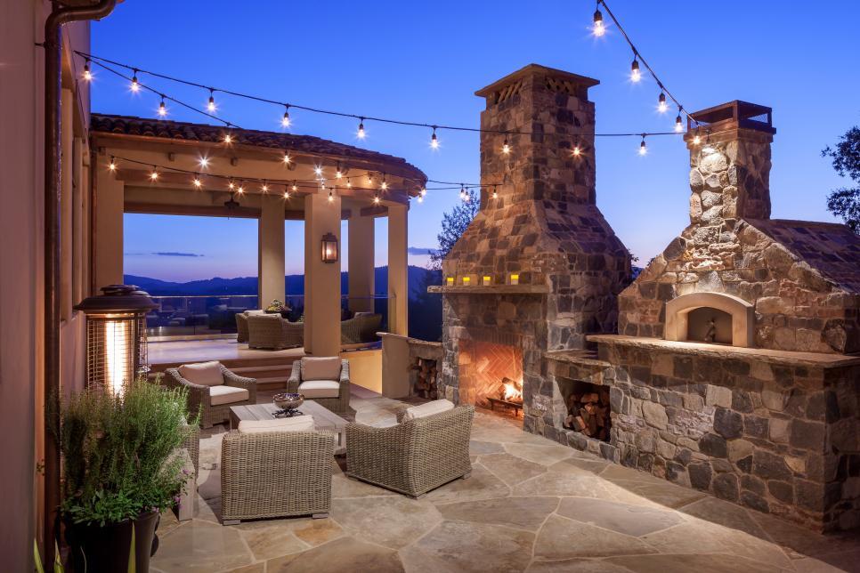 Pinterest Outdoor Fireplace