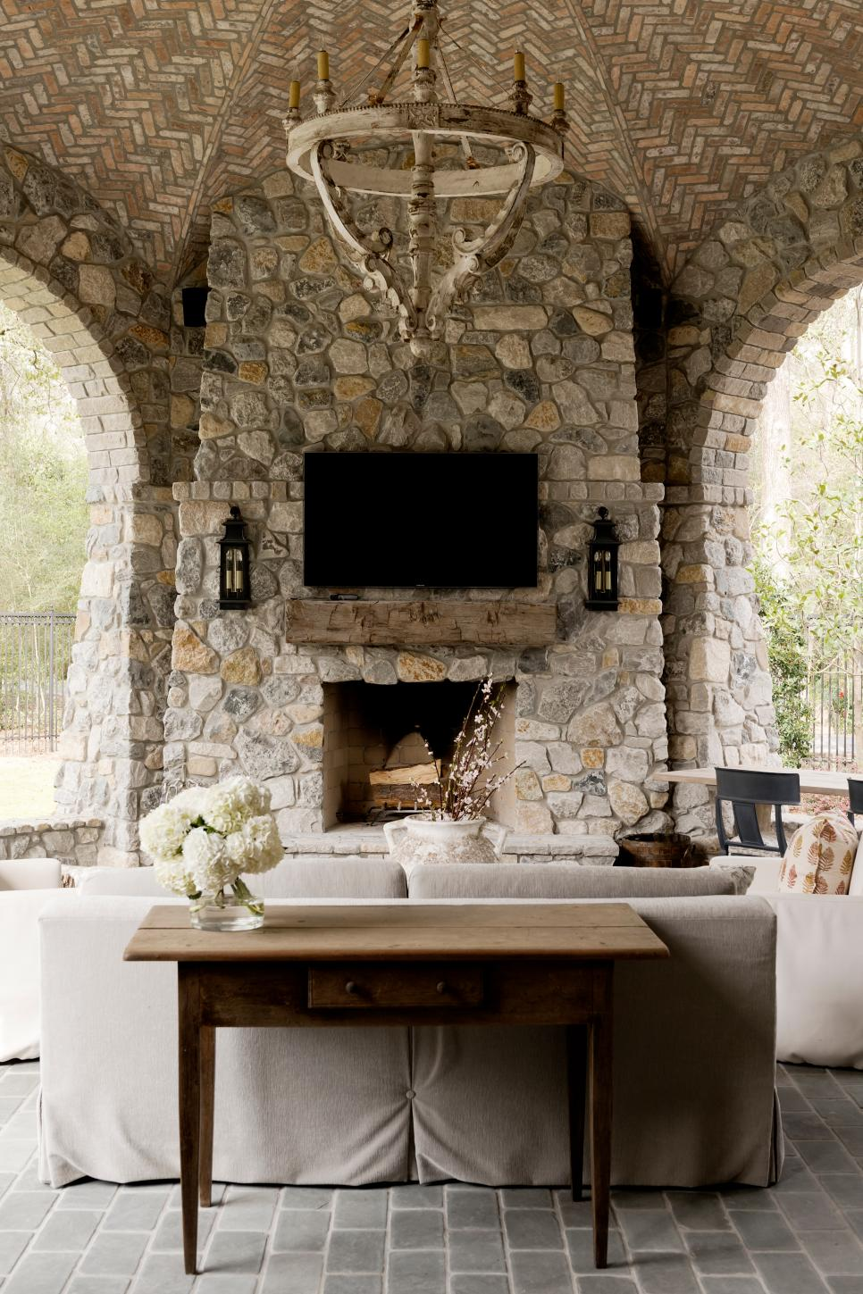 30 Best Ideas For Backyard Fireplace And Pergolas