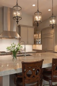 Selecting kitchen island lighting that fits your needs and ...