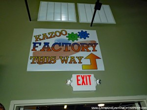 Kazoo Factory Tour – THIS WAY!