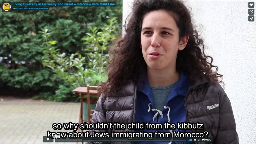 Living Diversity in Germany and Israel – Interview with Galit Fine